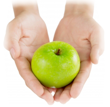 apple-hand